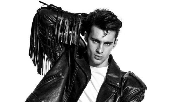 Elevate: Elliot Meeten Rocks Leather & More for Attitude