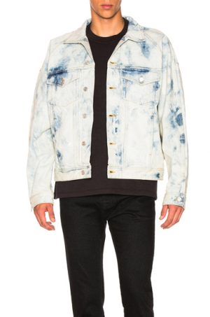 Fear of God Inverted Holy Water Trucker Jacket in Denim Light. - size M (also in L,XL,S)