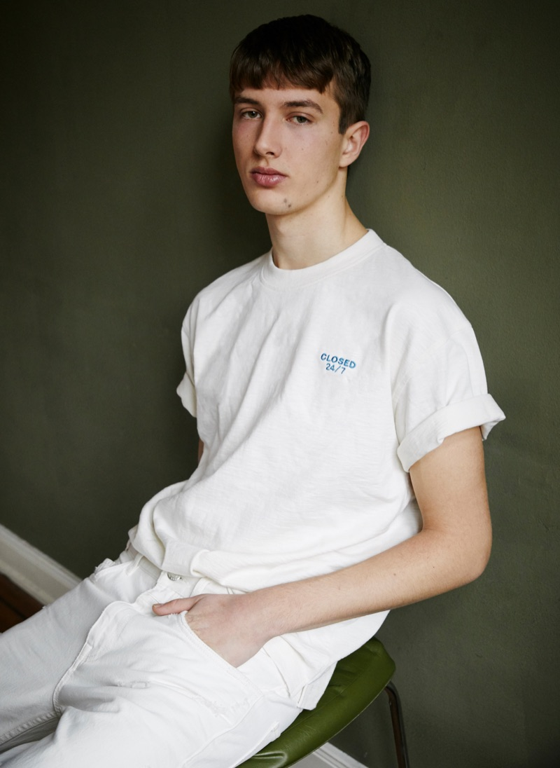 Felix Sauerbrey Goes Casual in Closed