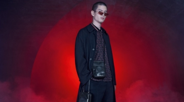 Fendi enlists Kohei Takabatake as the star of its spring-summer 2019 campaign.