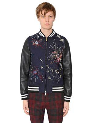 Fireworks Wool & Leather Jacket