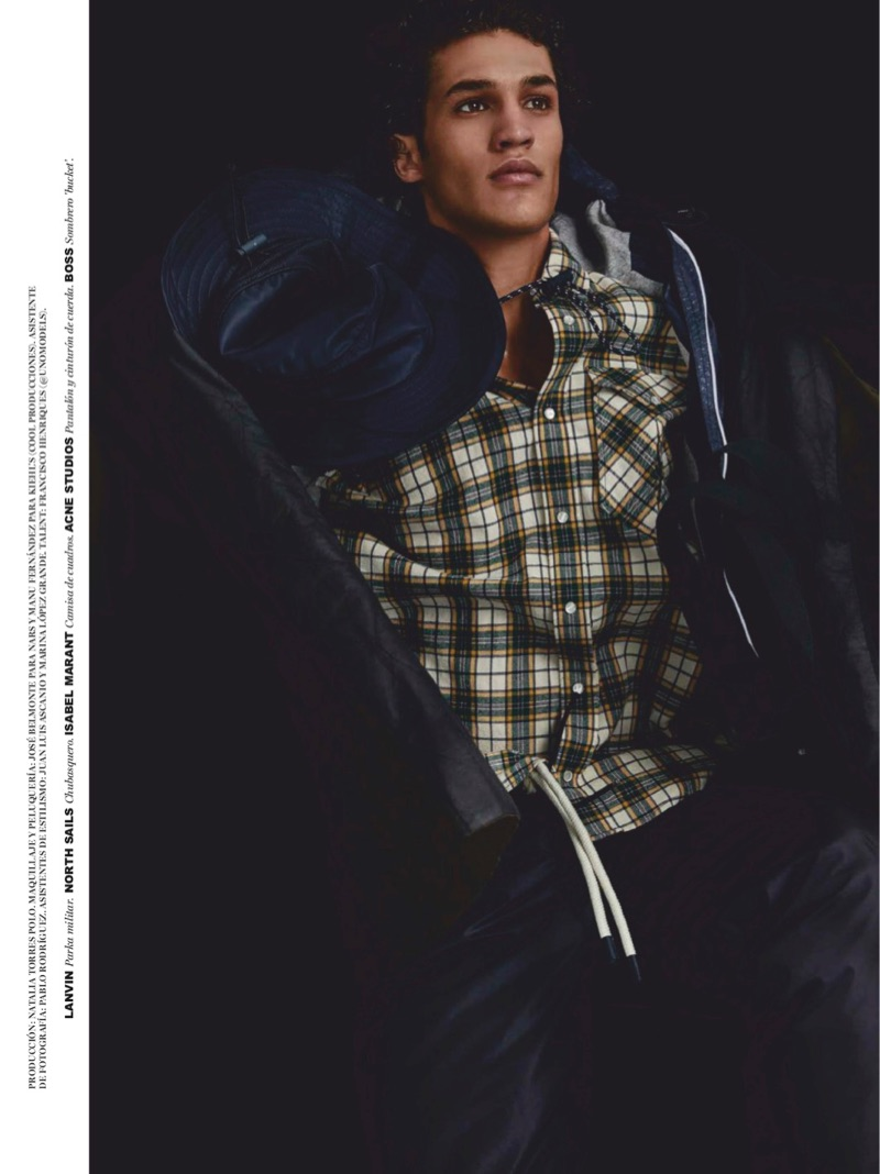 Francisco Henriques Sports Outdoors Style for Spanish GQ
