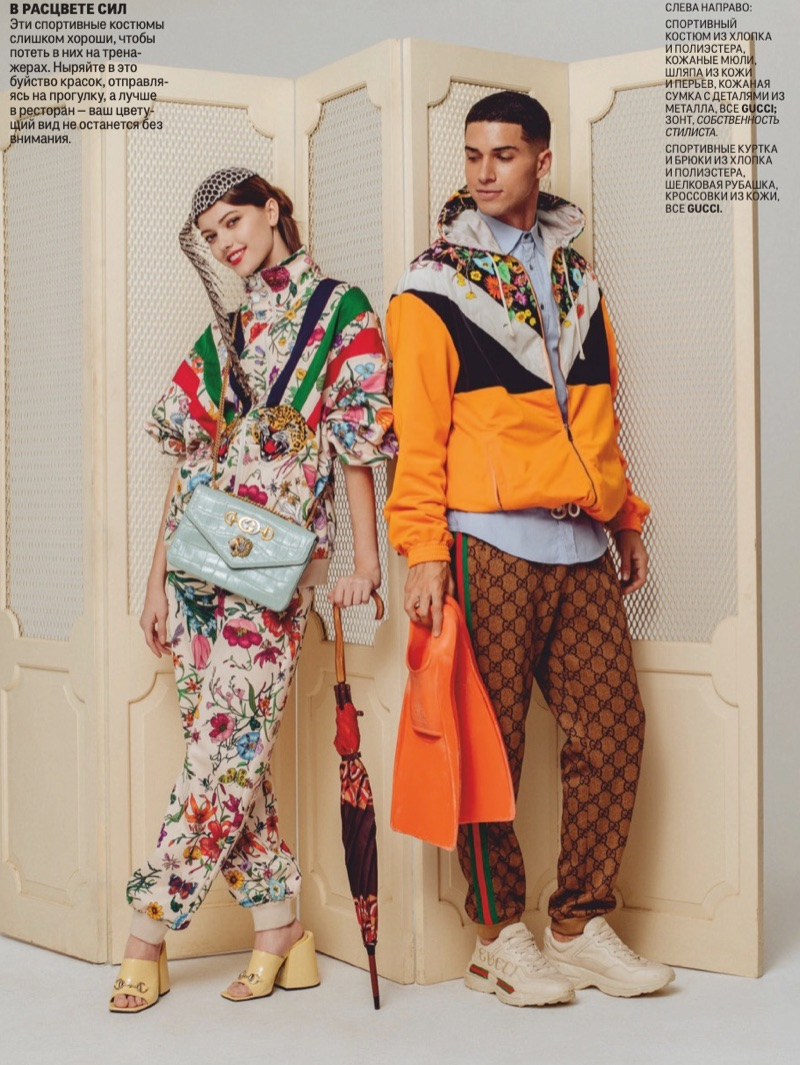 GQ Russia Highlights Fashionable Spring '19 Numbers