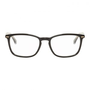 Gucci Black Rectangle Glasses