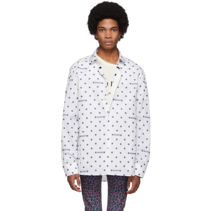 8fc71d8fae4b Gucci Off-White Star Fil Coupe Shirt | The Fashionisto
