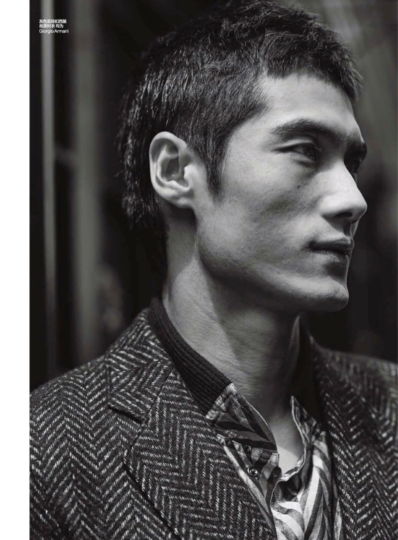 Relaxing Morning: Hao Yun Xiang on the Move for GQ China
