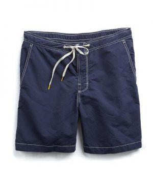 Hartford Kuta + Pochette Swimwear in Navy