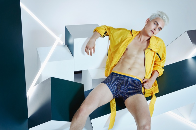 Otto Seppalainen fronts I Am What I Wear's spring-summer 2019 campaign.