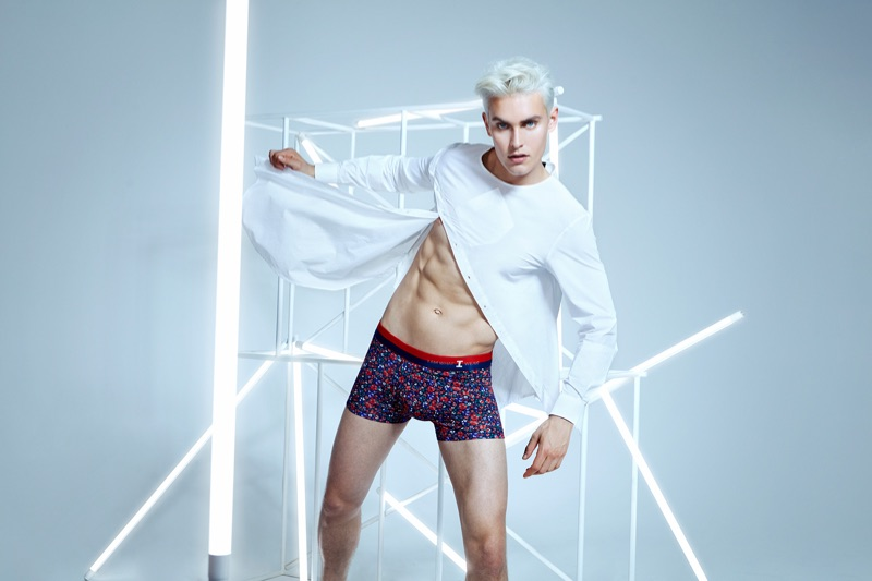 Model Otto Seppalainen stars in I Am What I Wear's spring-summer 2019 campaign.