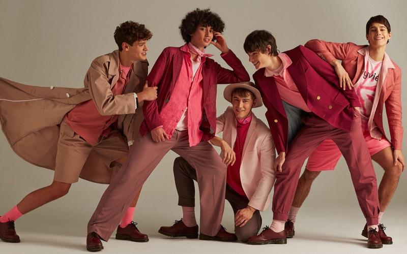 Fernando Lindez, Sofian El Ben + More Rock Colorful Looks for Icon Spain