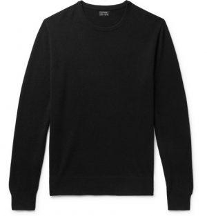 J.Crew - Cashmere Sweater - Men - Black