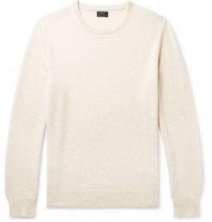 J.Crew - Cashmere Sweater - Men - Off-white