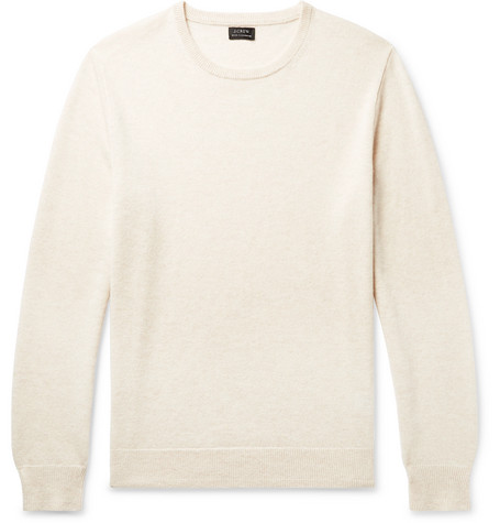 J.Crew - Cashmere Sweater - Men - Off-white
