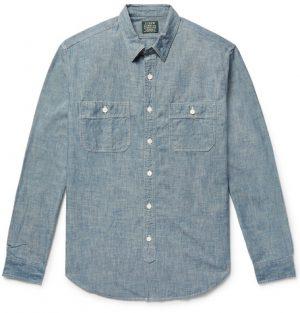 J.Crew - Cotton-Chambray Shirt - Men - Blue