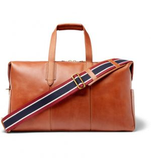 J.Crew - Leather Holdall - Men - Tan
