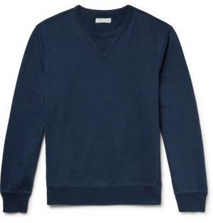 J.Crew - Loopback Cotton-Jersey Sweatshirt - Men - Navy