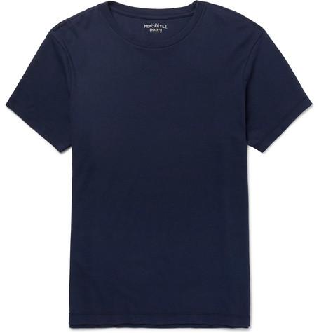 J.Crew - Mercantile Slim-Fit Cotton-Jersey T-Shirt - Men - Navy