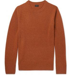 J.Crew - Merino Wool-Blend Sweater - Men - Orange