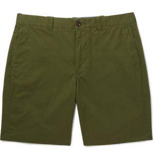 J.Crew - Stanton Slim-Fit Stretch-Cotton Twill Shorts - Men - Green
