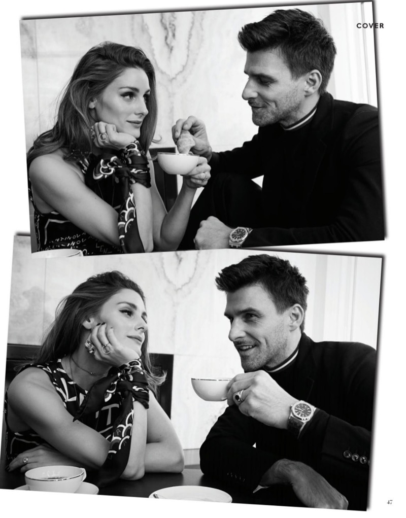 Johannes Huebl & Olivia Palermo Share Love & Style with Claur