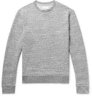 John Elliott - Knitted Cotton Sweater - Men - Storm blue