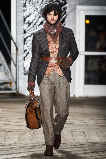 Joseph Abboud Delivers Old World Flair with Fall '19 Collection