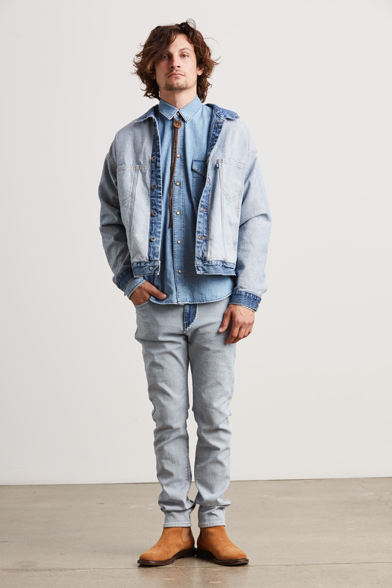 Levi's Made & Crafted embraces western style with denim for spring-summer 2019.
