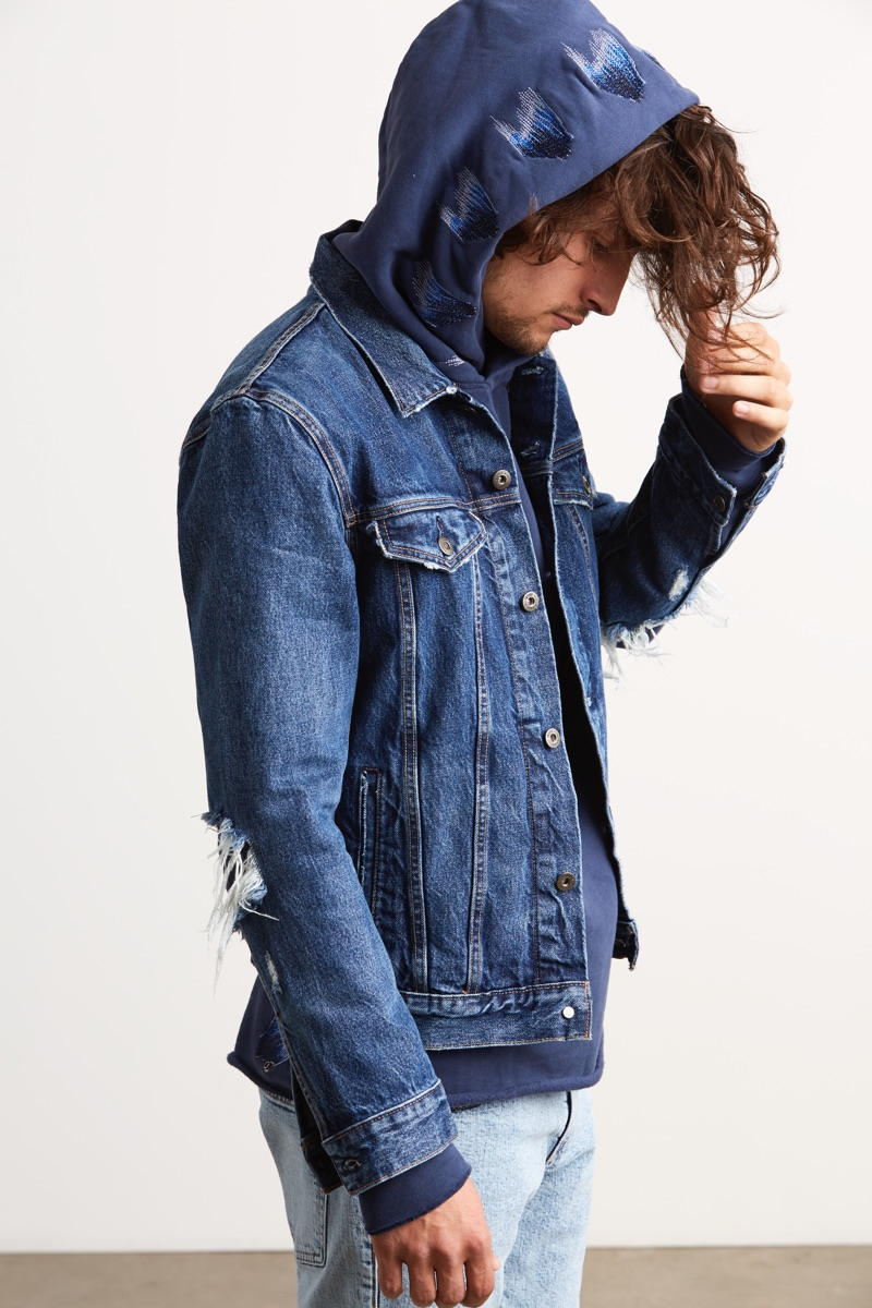 Denim blues reign for Levi's Made & Crafted's spring-summer 2019 collection.