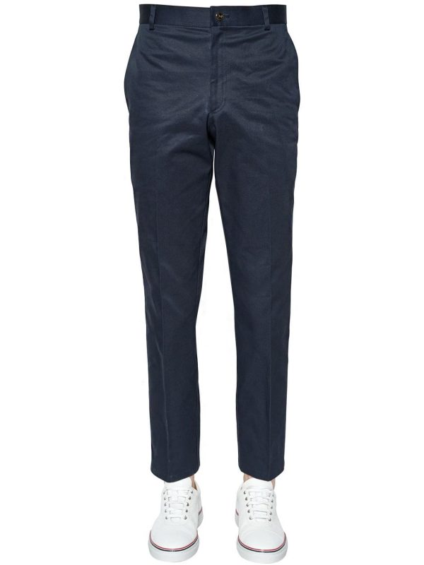 Light Cotton Twill Chino Pants