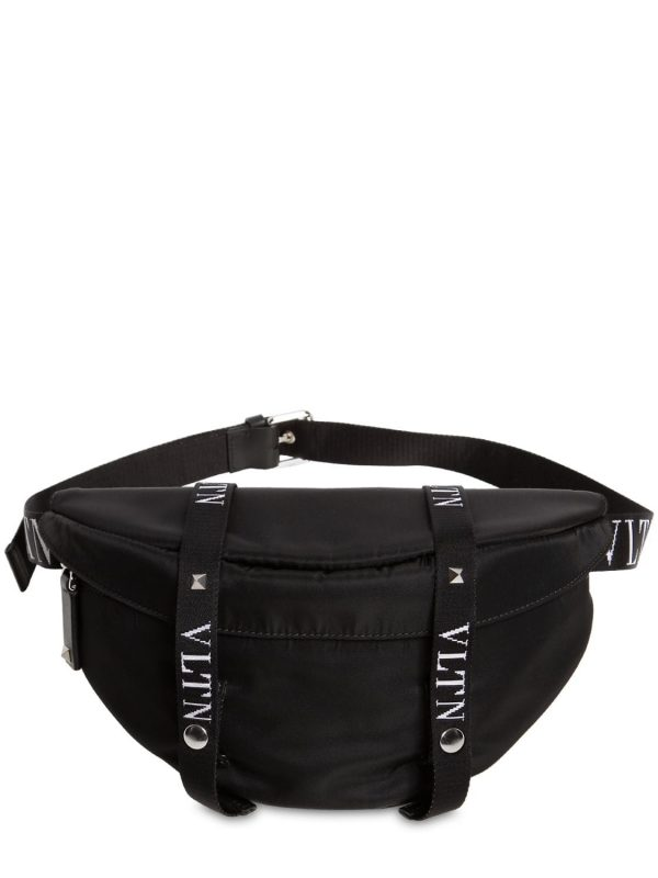 Logo Nylon Belt Bag