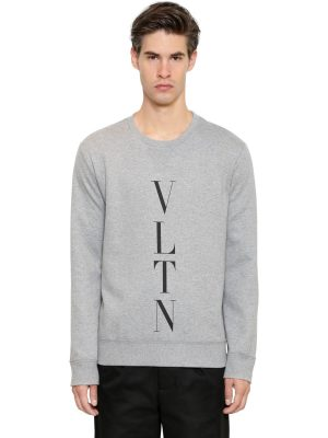 Logo Printed Cotton Sweatshirt