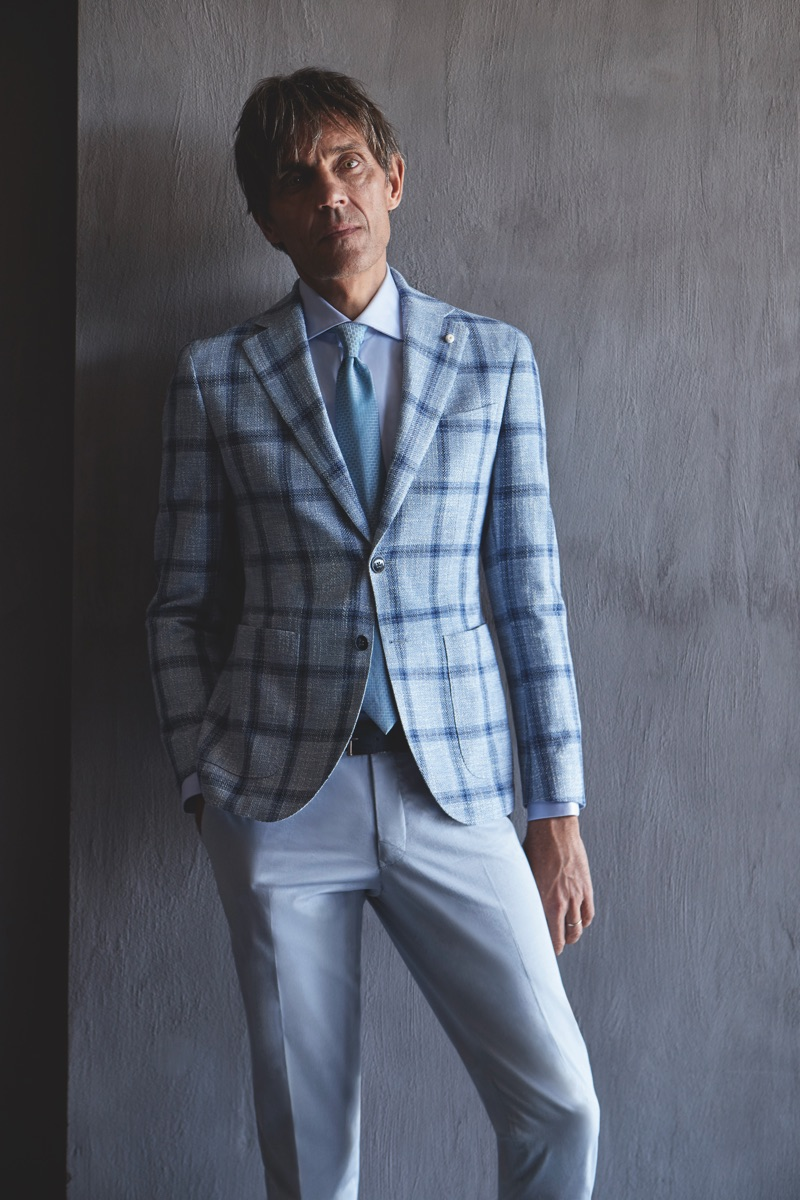 Luigi Bianchi Mantova taps Didier Vinson as the face of its spring-summer 2019 campaign.