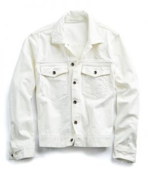 Made in L.A. Denim Jacket in White
