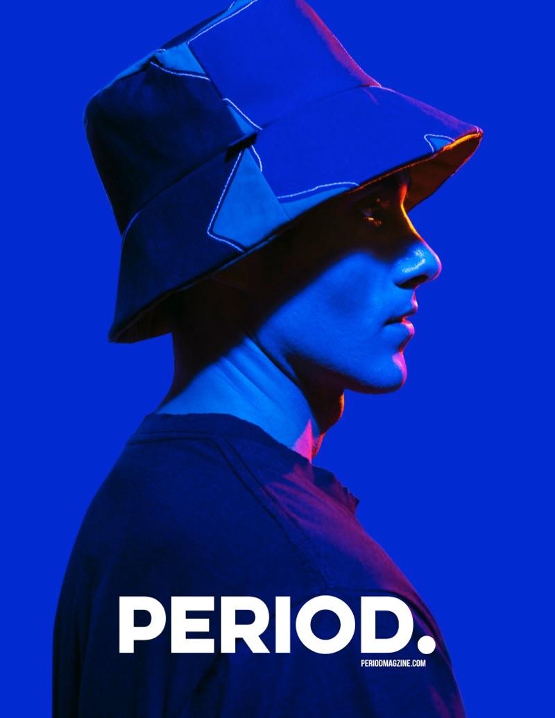 Marlon Blue Sports Modern Ottomondi Looks for Period Magazine