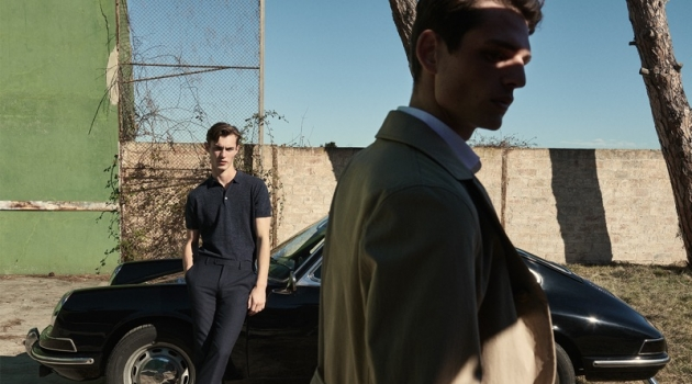 Think Spring: Kit Butler & Pau Ramis Don Massimo Dutti Resort Collection