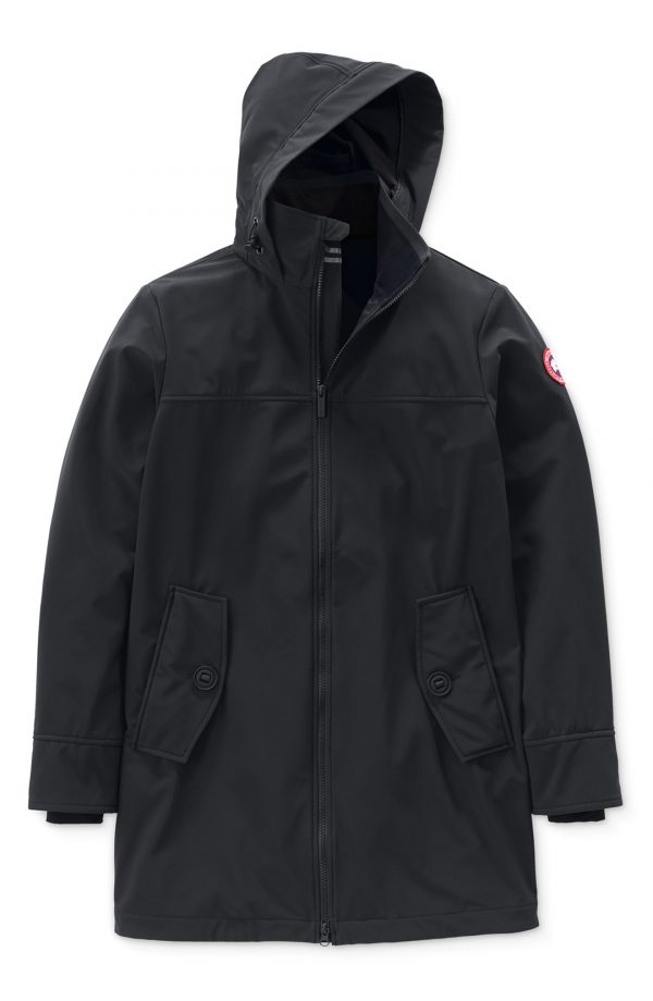 Men's Canada Goose Kent Slim Fit Jacket Windproof/waterproof Jacket, Size Small - Black