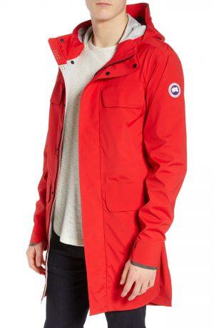 Men's Canada Goose Seawolf Regular Fit Packable Waterproof Jacket, Size X-Large - Red