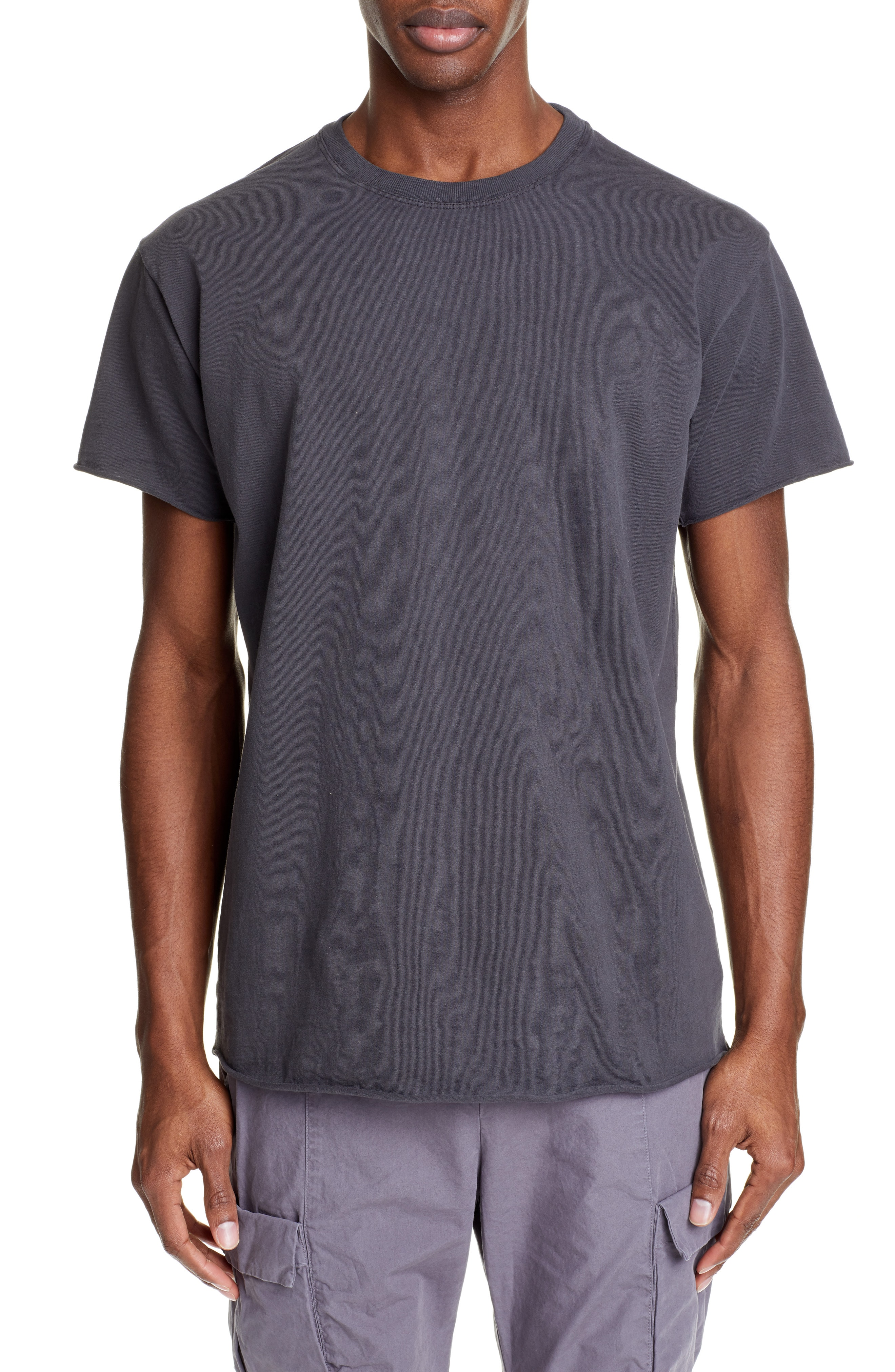 watch 13002 ac609 Men's John Elliott Anti Expo Crewneck T-Shirt, Size Small - Grey