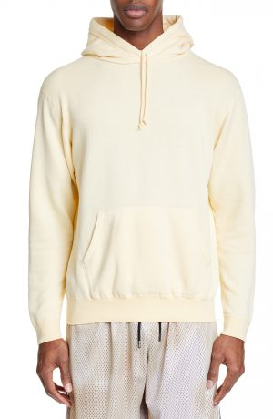Men's John Elliott Vintage Fleece Hoodie, Size Small - Yellow