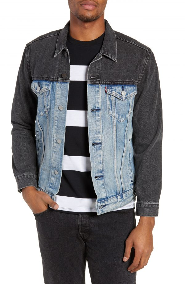 Men's Levi's Trucker Jacket, Size Small - Blue