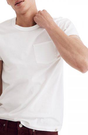 Men's Madewell Pocket T-Shirt, Size XX-Large - White