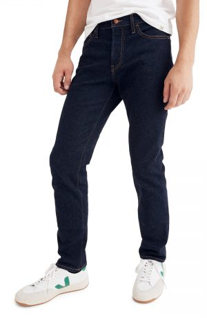 Men's Madewell Slim Fit Jeans, Size 32 x 32 - Blue