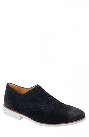 Men's Sandro Moscoloni Manoel Wingtip, Size 7.5 D - Blue