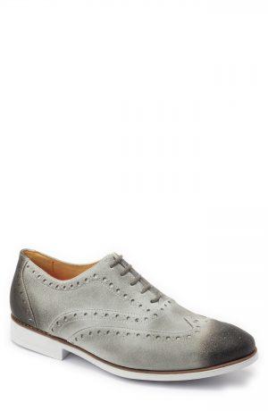 Men's Sandro Moscoloni Manoel Wingtip, Size 8 D - Grey