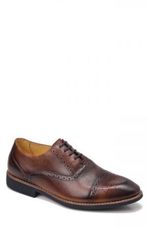 Men's Sandro Moscoloni Murali Cap Toe Oxford, Size 11.5 D - Brown