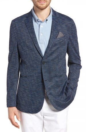 Men's Vince Camuto Houndstooth Performance Mesh Blazer