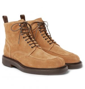 Mr P. - Jacques Suede Boots - Men - Light brown