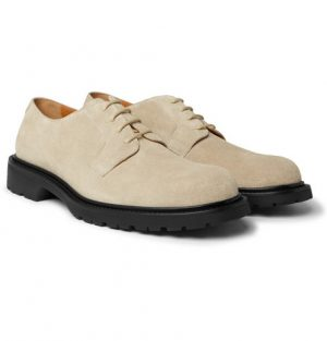 Mr P. - Jacques Suede Derby Shoes - Men - Sand
