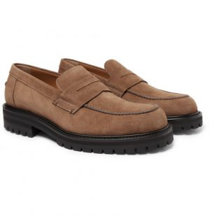 Mr P. - Jacques Suede Loafers - Men - Light brown