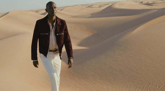 Armando Cabral dons Tom Ford for Mr Porter's spring-summer 2019 campaign.